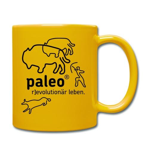 Paleo r evolutionär Illu - Tasse einfarbig