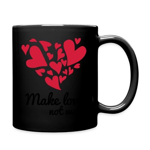 Make Love Not War T-Shirt - Full Colour Mug