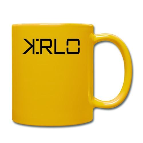 Kirlo Logotipo Negro - Taza de un color