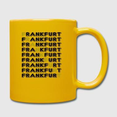Frankfurt font - Full Colour Mug