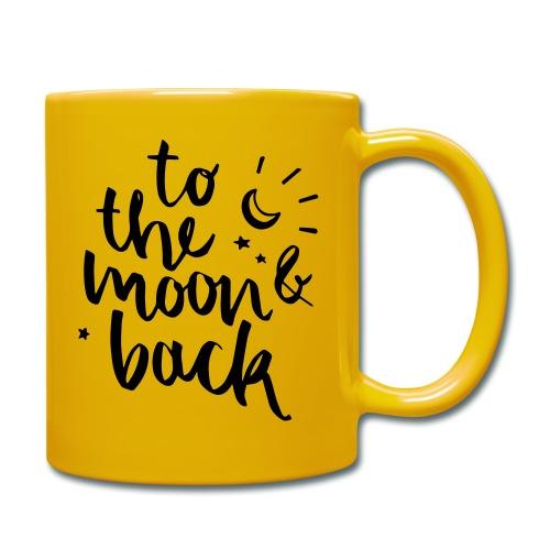 moonlove - Tasse einfarbig