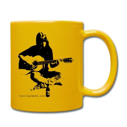 Cynthia Janes guitar BLACK - Full Colour Mug