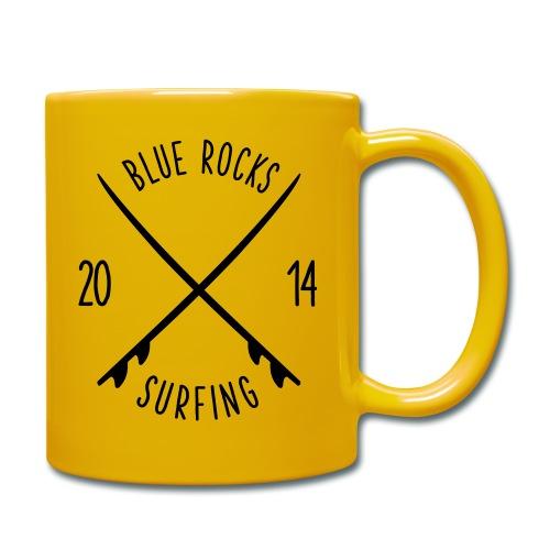 Blue Rocks Bag - Tasse einfarbig