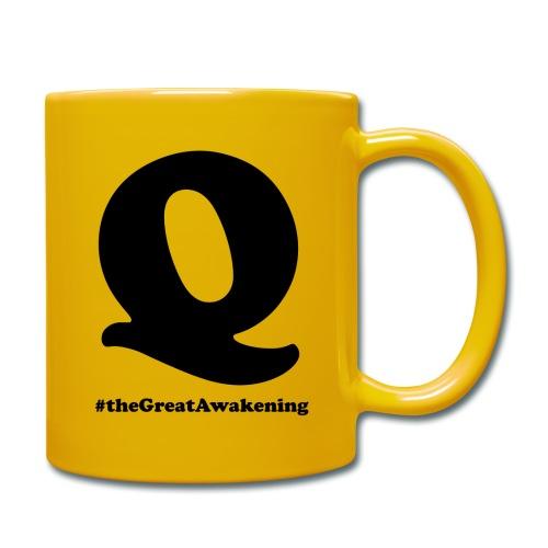 Q Anon #theGreatAwakening - Yksivärinen muki