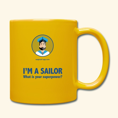 SeaProof Superpower - Tasse einfarbig