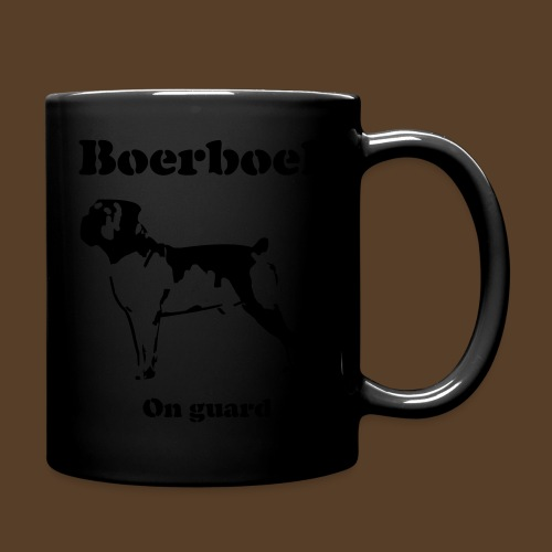 Boerboel on Guard - Tasse einfarbig