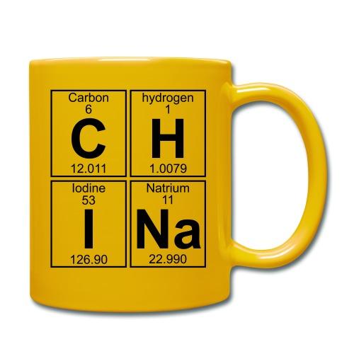 C-H-I-Na (china) - Full - Full Colour Mug