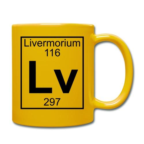 Livermorium (Lv) (element 116) - Full Colour Mug