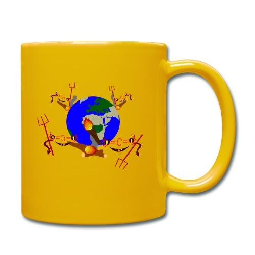 CO2 Klimawandel Chemie Erwärmung Spruch lustig - Tasse einfarbig