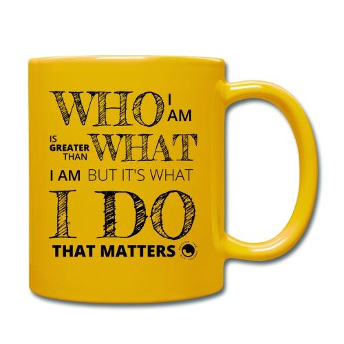 Who I Am - Full Colour Mug