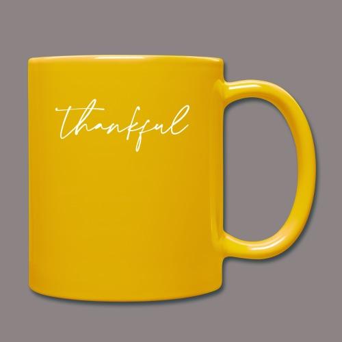 thankful - Tasse einfarbig