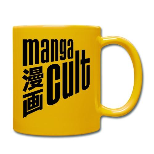 Manga Cult Logo Schwarz - Tasse einfarbig