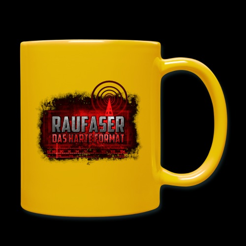 Raufaser Logo - Tasse einfarbig