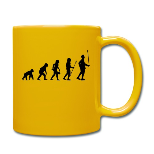 Stabführer Evolution - Tasse einfarbig