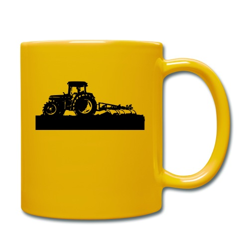 Tractor with cultivator - Full Colour Mug