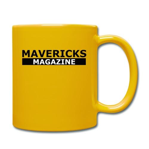 Mavericks_Magazine_Logo_Black - Tazza monocolore