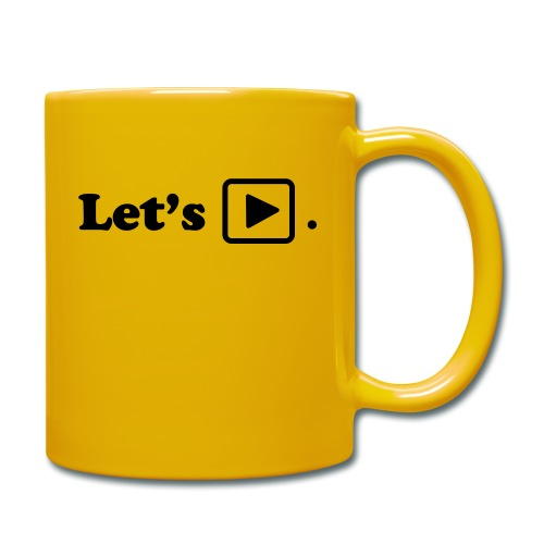 Let's play. - Mug uni