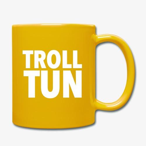 Trolltun logo - Ensfarget kopp