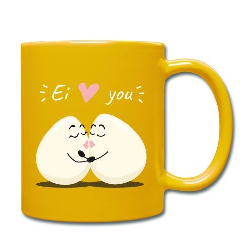 Ei LOVE You - Tasse einfarbig