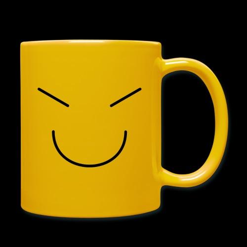 Gute Laune Schwarz - Tasse einfarbig