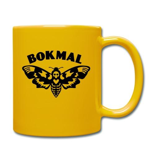 BOKMAL - Enfärgad mugg