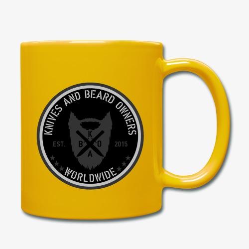 kabo logo schwarzgrau - Tasse einfarbig