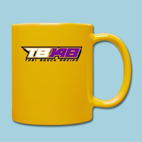 Tobi Logo schwarz - Tasse einfarbig