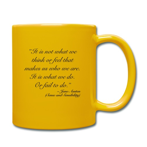 Austen quote 2 - TAE - Enfärgad mugg