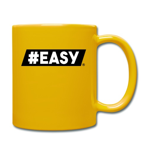 #EASY Classic Logo T-Shirt - Tazza monocolore
