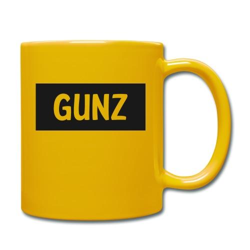 Gunz - Ensfarvet krus