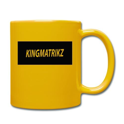 kingmatrikz - Ensfarvet krus