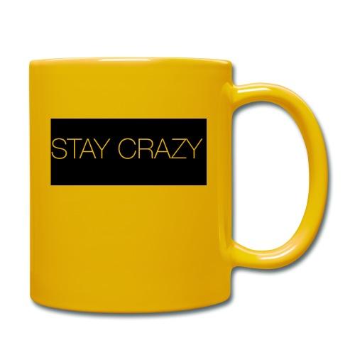 STAY CRAZY - Enfärgad mugg