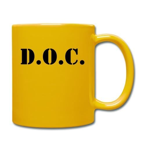 Department of Corrections (D.O.C.) 2 back - Tasse einfarbig