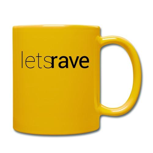 letsrave - Tasse einfarbig