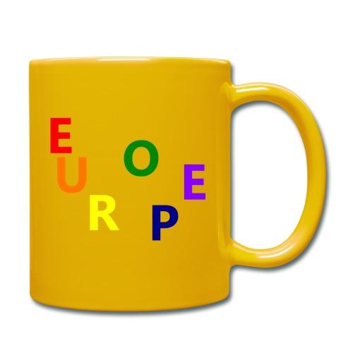EUROPE #1 - Tasse einfarbig