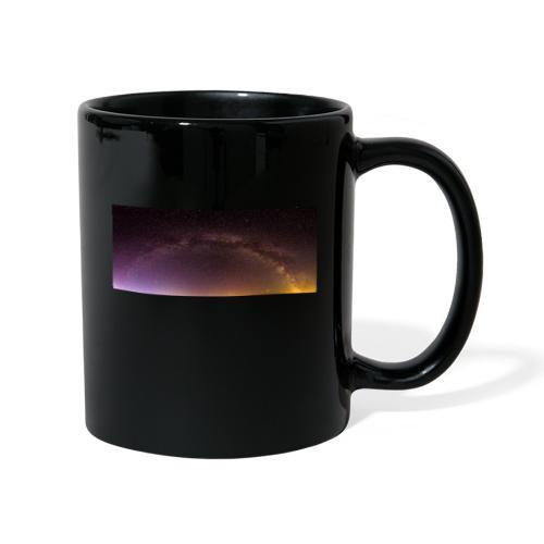 Milchstraße Panorama - Tasse einfarbig