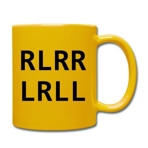 RLRR LRLL - Tasse einfarbig