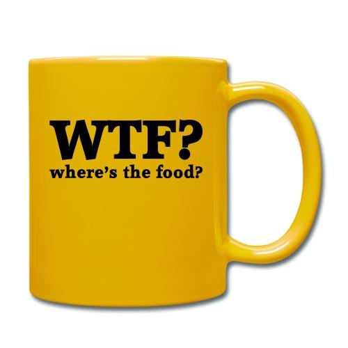 WTF - Where's the food? - Mok uni
