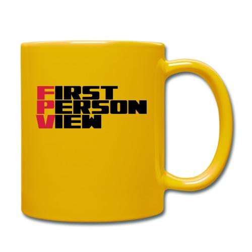 First Person View - Full Colour Mug