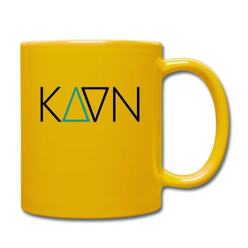 kaan logo 1600px - Tasse einfarbig