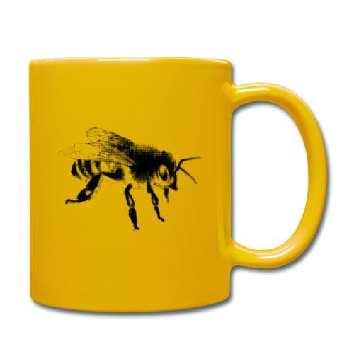 Honungsbi - Enfärgad mugg