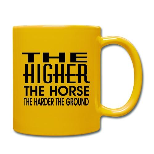 hoch2 - Tasse einfarbig