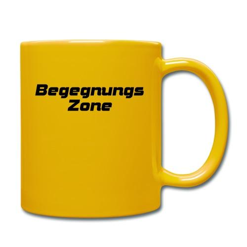 Begegnungszone - Tasse einfarbig