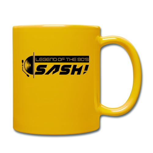DJ SASH! Turntable 2020 Logo - Full Colour Mug