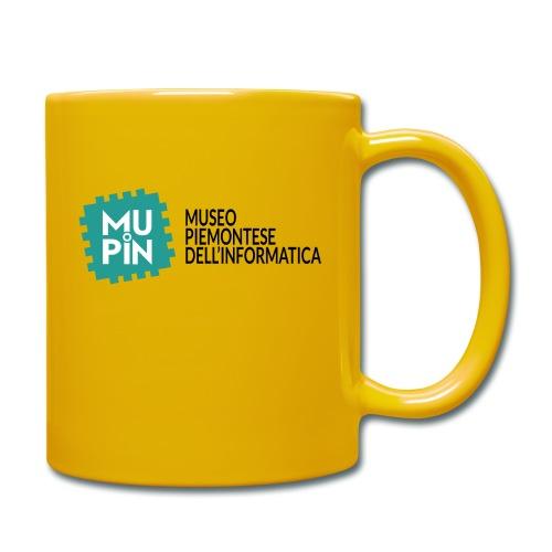 Logo Mupin con scritta - Tazza monocolore