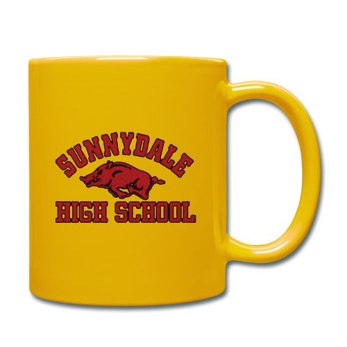 Sunnydale High School logo merch - Mok uni
