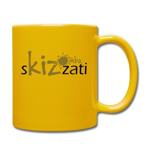 Beanie in jersey con logo sKizzati Kizomba - Verde - Tazza monocolore