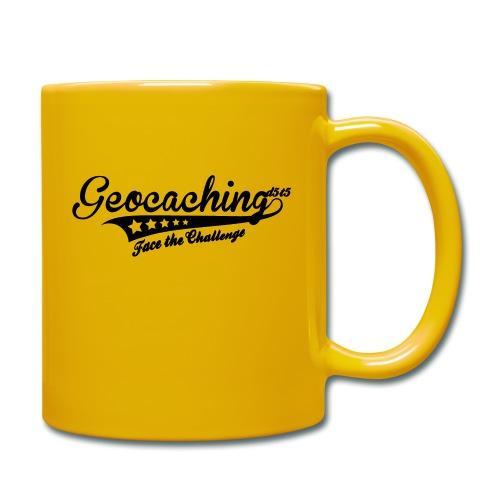 Geocaching - Face the Challenge - Tasse einfarbig