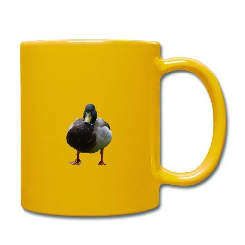 A lone duck - Full Colour Mug