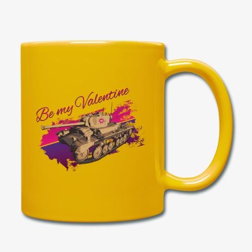 Be my Valentine Tank - Tasse einfarbig